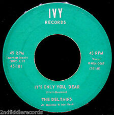 THE DELTAIRS-Lullaby Of The Bells-Doo Wop-Northern Soul 45-IVY #101