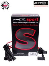 PowerTEC Sport 8mm Ignition Cables Lead HT Set Ford Mondeo MK3 1.8 2.0 16v 2000-