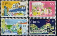 Singapore stamps - 2014 Past Street Scenes high value def 4v MNH transport buses