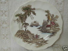 "VINTAGE JOHNSON BROTHERS THE OLD MILL 6 1/4"" PLATE"