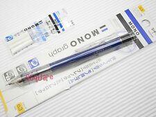 Tombow Mono Graph 0.3mm Mechanical Pencil w/ Eraser Pen + 3 Eraser Refills, L