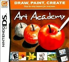 Art Academy CARTRIDGE MINT Nintendo DS Game