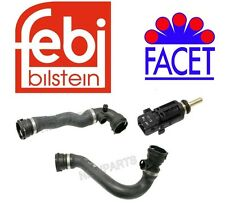 BMW 320 323 325 328 330 E46 Lower & Upper Radiator Hose + Sensor Kit