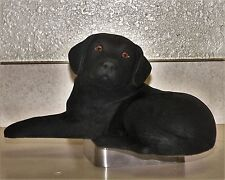 Exquisite Sandra Brue, Signature/Limited Edition Labrador Retriever Sculpture