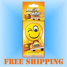 Profumo Deodorante per Auto Smile Vaniglia