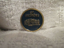 British Open St Andrews Golf Links Small Flat Ball Marker Mark