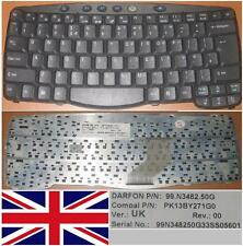 CLAVIER QWERTY UK ACER TM530 530 530lci 270 99.N3482.50G PK13BY271G0 Noir