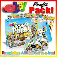 ►EBAY PROFIT PACK! AFFILIATE WEBSITES GELD CASH ENGLISH WIEDERVERKAUF RESALE MRR