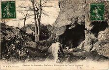 CPA  Environs de Nemours - Rochers et Grotte prés du Pont de Bagneaux   (249759)