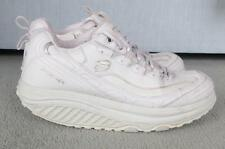 Skechers White Shape Ups Trainers 6 / 39 Toners Fitness Rocking Soles