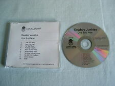 COWBOY JUNKIES One Soul Now promo CD album
