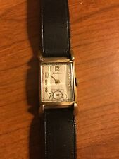 VINTAGE MENS BULOVA  10K GOLD FILLED WRISTWATCH WATCH 21 JEWEL, 7AK