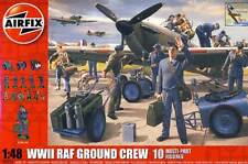 Airfix WWII RAF ground Crew personal de tierra campo aéreo equipment 1:48 ausrütung sugerencia