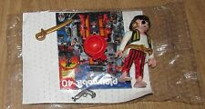 Playmobil Figure Pirate captain golden sword saber earrings stripy trousers gun