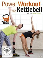 ROBERT JURLINA - POWER WORKOUT PLUS KETTLEBELL 2-IN-1 FIGUR-BOOSTER  DVD NEU
