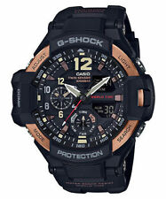 Casio Men's G Shock Aviation Gravitymaster Twin Sensor Watch GA1100RG-1A