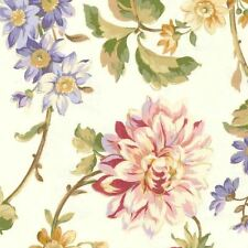 Mill Creek Floral ALABASTER Home Decor Cotton Jacquard Drapery Sewing Fabric