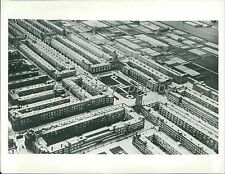 1940 Cooperative Housing Project in Amsterdam Original News Service Photo