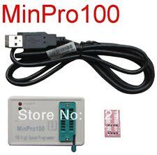 MinPro100 Programmer,Motherboard BIOS SPI FLASH 24/25 TV Memory USB Burner