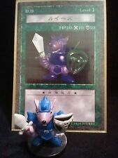 YUGIOH Dungeon Dice Monsters DDM - Japanese  BEAVER WARRIOR  figure & card lot