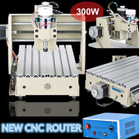 300W 3 AXIS CNC ROUTER ENGRAVER ENGRAVING 3020 DESKTOP DRILLING&MILLING MACHINE