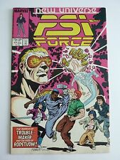 Marvel - Psi-Force No. 17 March 1988
