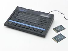VINTAGE KORG DDD-5 DYNAMIC DIGITAL DRUM MACHINE w/ DDC-A12 DDC-A08 MEMORY CARDS