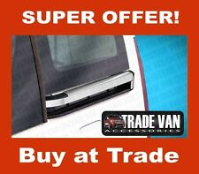 CITROEN BERLINGO SLIDING DOOR RAIL COVER TRIM 4PC STAINLESS STEEL 2008 TO 2013