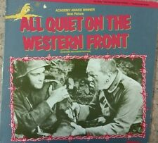 All Quiet On The Western Front 1930. Restored version. US Import NTSC Laserdisc.