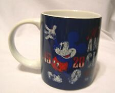 DISNEY Jerry Leigh 1928 True American Classic MICKEY MOUSE Coffee cup mug