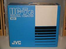 JVC HC-7GB MSX Personal Computer ~ Boxed ~ UK Model ~ Excellent Condition