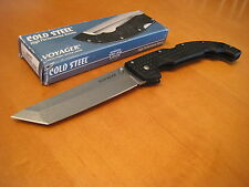 "Cold Steel Extra Large Voyager TANTO Knife 29TXT AUS8A Tactical 12"" Folder NIB !"