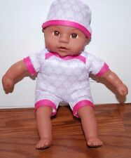 (NEW) MY SWEET LOVE MINI AFRICAN AMERICAN BLACK BABY DOLL AA GIRLS SOFT TOY