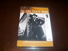 THE CIVIL WAR A Nation Divided Lincoln Confederate Soldier American Heritage DVD