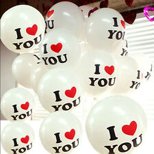 25 Pcs White Latex Balloons For Party Wedding Engagement Marriage Proposal Decor