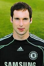 Football Photo PETR CECH Chelsea 2009-10