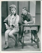 Lucille Ball and Mickey Rooney Original Photo