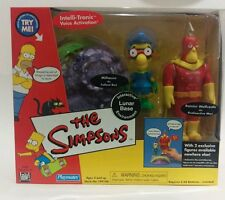 Simpsons WOS Set Radioactive Man Fallout Boy Lunar Base Moonscape Collectable