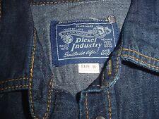 Diesel Industries Denim Shirt M