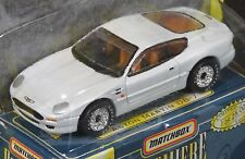 Matchbox Premiere Collection white Aston Martin DB-7 World Class Series 10