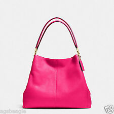 Coach Bag F34495 Madison Leather Small Phoebe Shoulder Bag Agsbeagle COD