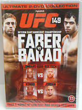 UFC 149 - Faber Vs Barao DVD 2-Disc Ultimate Collection - NEW & SEALED