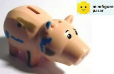 Lego 7596 Disney Pixar Toy Story: Hamm Dirt Pattern Pig Piggy Bank Minifigure