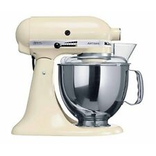 KitchenAid 125 Artisan 4.8L Stand Mixer, Almond Cream & Ice Cream maker