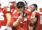 MIKE RILEY HAND SIGNED NEBRASKA CORNHUSKERS 8X10 PHOTO W/COA