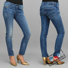 NWT AUTHENTIC DIESEL CUDDY 008JQ SKINNY JEANS SIZE 25 MADE IN ITALY