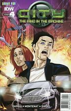 CITY THE MIND IN THE MACHINE #4 - IDW COMICS - 2014