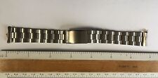 NOS Vintage Seiko Stainless Steel Watch Band 18mm Removable Ends