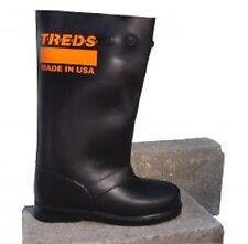 "TREDS Super Tough 17"" Pull-On Stretch Rubber Overboots - Medium - # 17851"