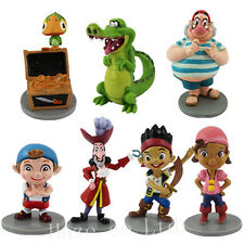 7PCS/Set Jake And The Neverland Pirates PVC Figure Kids Gift Toy Doll